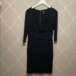 White House Black Market Cocktail Dress slimming